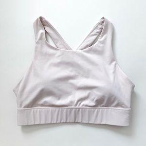Fabletics Ellie High Support Light Pink Sport Bra